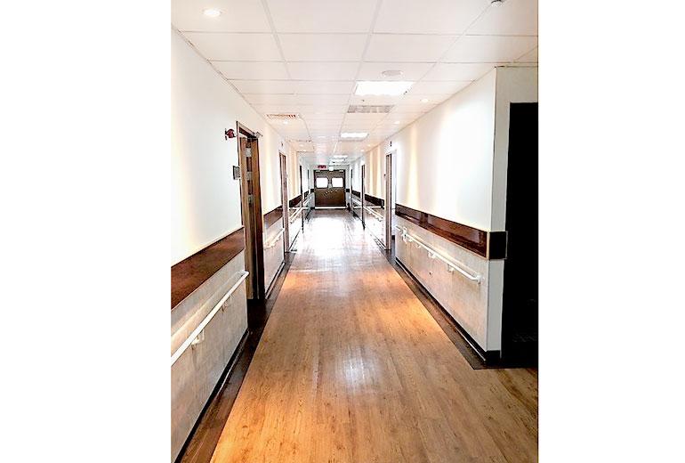 懷寧醫院附設護理之家走廊