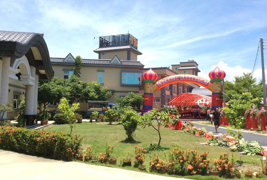 台南市私立聖祐護理之家-戶外環境