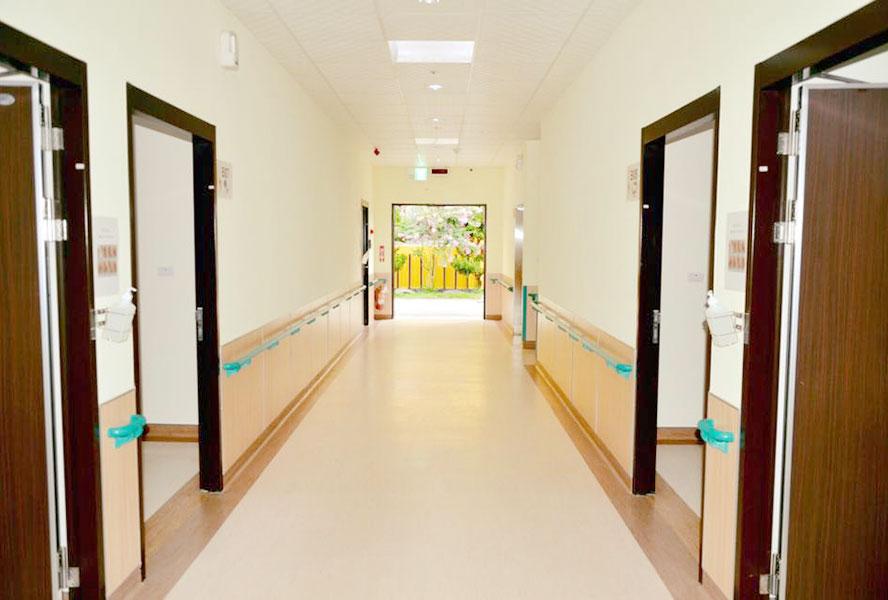 彰化縣居享護理之家走廊