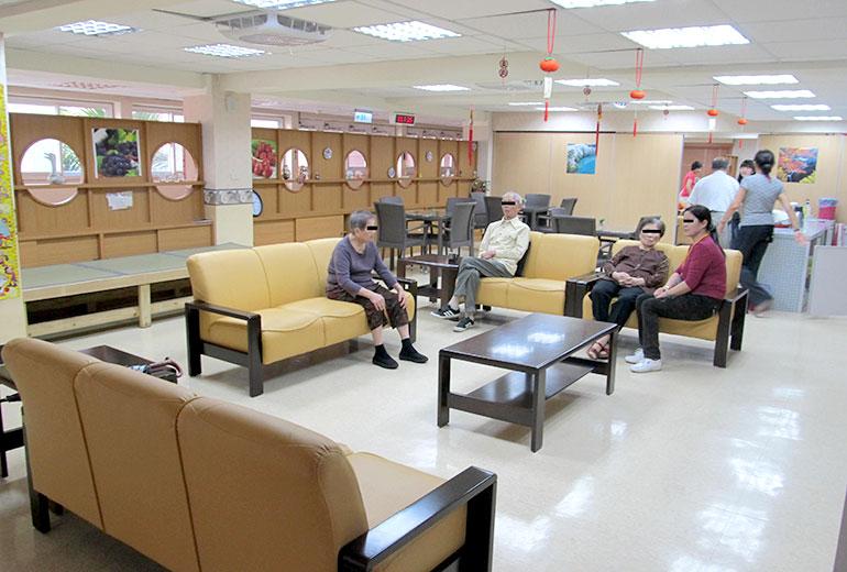 臺北市中山老人住宅暨服務中心(附設日間照顧服務中心)-休息區