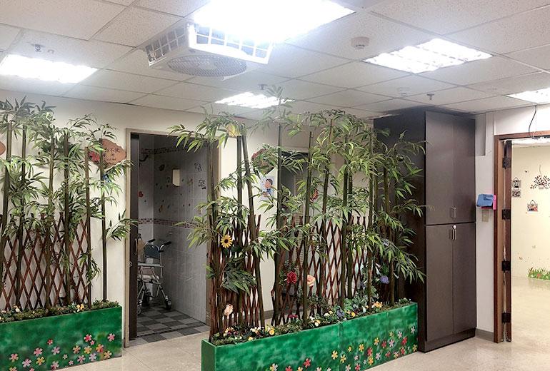 財團法人台灣省私立健順養護中心(南港老人服務暨日間照顧中心)-大廳