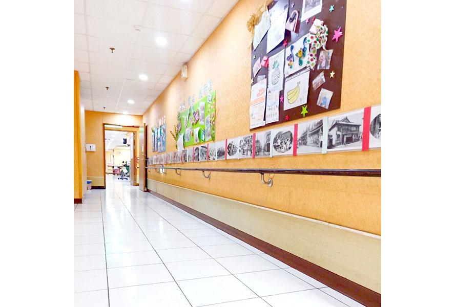 桃園市私立康益老人長期照顧中心(養護型)-走廊