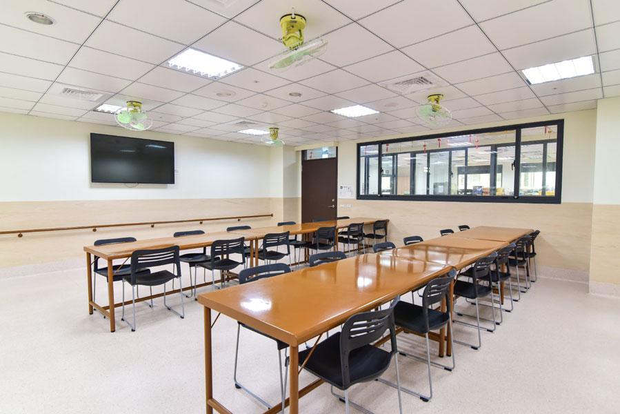 台中市烏日信和護理之家-休息區