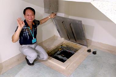 幸福護理之家-地下室的水箱層