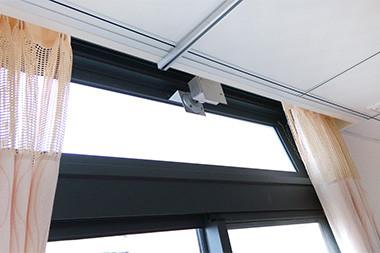 幸福護理之家-寢室內皆配有自動排煙氣窗