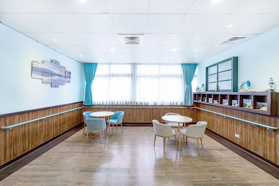 和安住宿長照機構-二樓主題「蔚藍海洋」