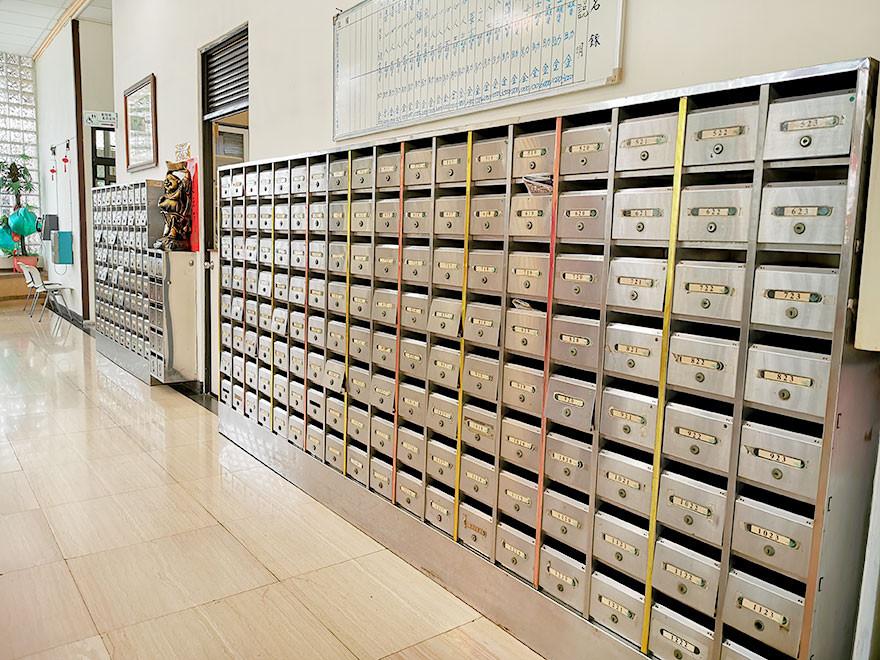 崧鶴樓-每個房間的專屬信箱