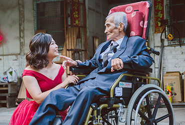 2019失能長輩之圓夢計畫:想看孫女結婚的那一天